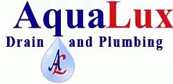 AquaLux Draining and Plumbing - Logo