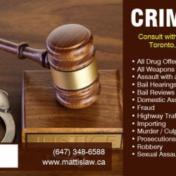 Best Criminal Lawyer in Toronto, Brampton & North York